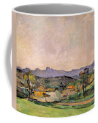 The Chaine De Letoile With The Pilon Du Coffee Mug by Paul Cezanne