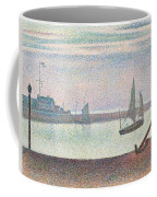 The Channel At Gravelines In The Evening Coffee Mug