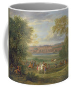 The Chateau Of Saint Germain Oil On Canvas Coffee Mug