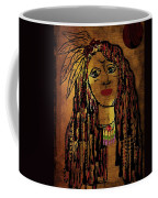 The Cheyenne Indian Warrior Brave Wolf Pop Art Coffee Mug