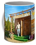 The Chicken Poop In Chicken-alaska Coffee Mug