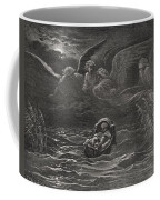 The Child Moses On The Nile Coffee Mug by Gustave Dore