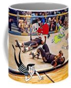 The Chipmunks Skating Roller Derby Coffee Mug