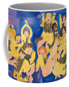The Chorus Line Coffee Mug by Don Larison