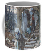 The Christening Gate In Lausanne, C.1861 Coffee Mug by Matthijs Maris