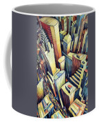 The Chrysler Building Coffee Mug by Charlotte Johnson Wahl