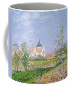 The Church At Vaudreuil Coffee Mug by Gustave Loiseau