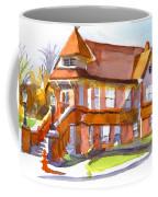 The Church On Shepherd Street 3 Coffee Mug by Kip DeVore