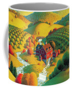 The Cider Mill Coffee Mug by Robin Moline