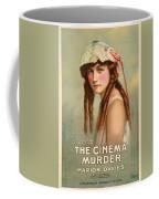 The Cinema Murder  Coffee Mug