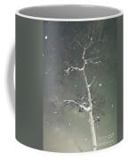 The Cold Bones Of Trees At Night Coffee Mug