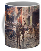 The Coldstream Guards At Landrecies Coffee Mug