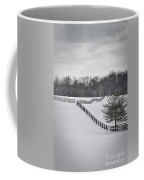 The Color Of Winter - Bw Coffee Mug