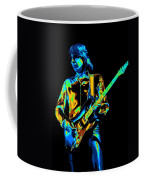 The Colorful Sound Of Mick Playing Guitar Coffee Mug