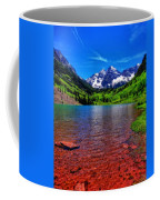 The Colors Of Maroon Bells In Summer Coffee Mug