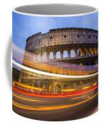 The Colosseum-blue Hour Coffee Mug