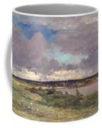 The Coming Storm Coffee Mug by Charles Francois Daubigny
