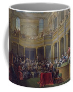 The Committee Of Lyon, 26th January 1802, 1808 Oil On Canvas Coffee Mug