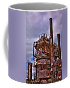 The Compressor Building At Gasworks Park - Seattle Washington Coffee Mug by David Patterson