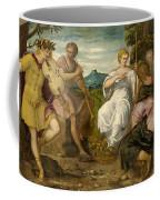 The Contest Between Apollo And Marsyas Coffee Mug