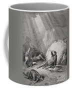 The Conversion Of St. Paul Coffee Mug by Gustave Dore