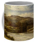 The Conway Near Bettws Y Coed Coffee Mug