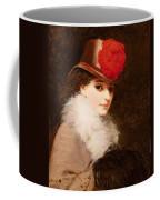 The Coquette, 1863 Coffee Mug