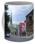 The Corner Of Rue Sainte Claire Overlooking Saint Jean Baptist Church Coffee Mug