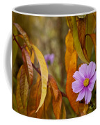 The Cosmos In The Peach Tree Coffee Mug