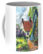 The Cottage Garden Path Coffee Mug