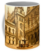 The Court House-hamburg-germany - Between 1890 And 1900 Coffee Mug