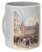 The Court In Chateaus Of The Loire Coffee Mug