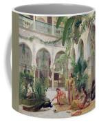 The Court Of The Harem Coffee Mug by Albert Girard