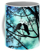 The Courtship Of Crows Coffee Mug