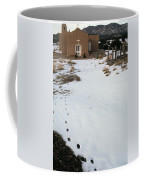 The Cowboys Homage 1972  San Francisco Church Ghost Town Golden New Mexico 1972 Coffee Mug