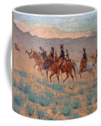 The Cowpunchers Coffee Mug by Frederic Remington
