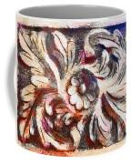 The Crayoned Leaves  Coffee Mug
