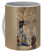 The Creating Of A Knight Templar Coffee Mug