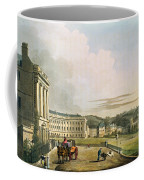 The Crescent, From Bath Illustrated Coffee Mug by John Claude Nattes