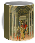 The Crippled And Sick Cured At The Tomb Of Saint Nicholas Coffee Mug