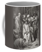 The Crown Of Thorns Coffee Mug by Gustave Dore