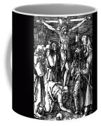 The Crucifixion Coffee Mug by Albrecht Durer