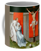 The Crucifixion With The Virgin And Saint John The Evangelist Mourning Coffee Mug