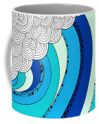 The Curl Coffee Mug by Susan Claire