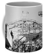 The Cyclone In Black And White Coffee Mug