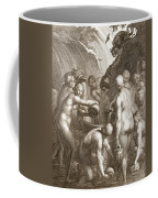 The Danaids Condemned To Fill Bored Coffee Mug