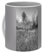 The Dance Of The Cattails Bw Coffee Mug