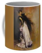 The Dancer Coffee Mug by Diane Kraudelt