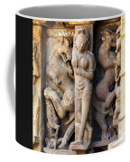 The Dancer In Stone Coffee Mug by C H Apperson