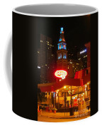 The Daniels And  Fisher Tower At Night Coffee Mug
